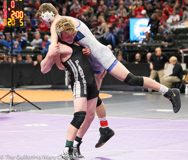145 - Jack Fogarty (Scott West) over Mitch Rothfork (Foley) Dec 4-3