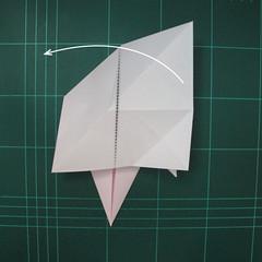 การพับกระดาษเป็นไดโนเสาร์ทีเร็กซ์ (Origami Tyrannosaurus Rex) 010