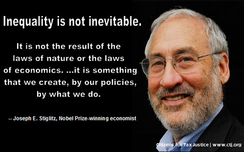 Joesph Stiglitz on Inequality | by citizens4taxjustice