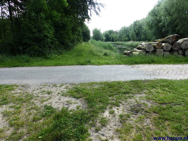 12-06-2014 Dronten Roggebotzand  20 Km (19)
