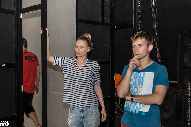 Gumshoes - backstage (0021)