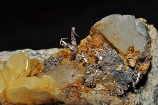 silver, quartz