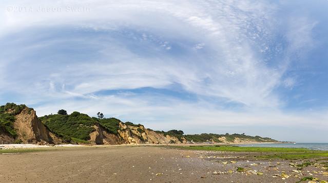 Whitecliff Bay Panorama - IMG_0234
