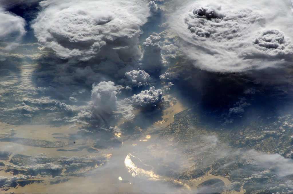 Archive Monsoon Clouds Over Bangladesh Archive Nasa In