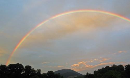 landscape rainbow northcarolina boone westernnorthcarolina southernappalachians canonpowershotsx40hs