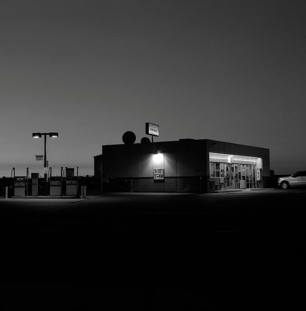 Gas Station, Pendleton, Oregon