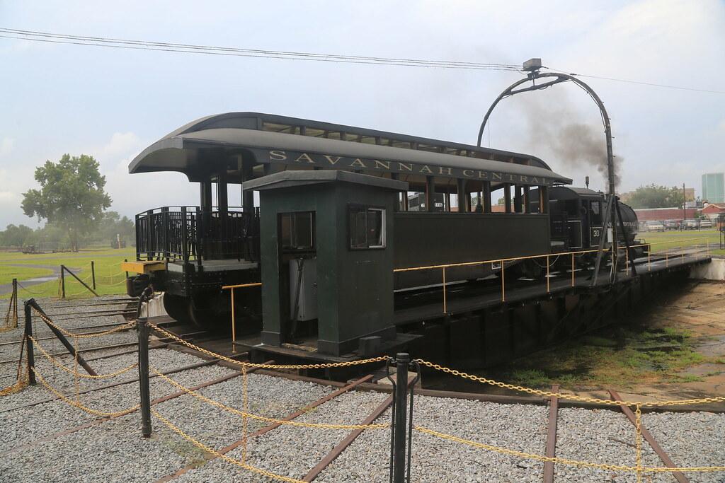 Central Of Georgia Railroad Shops Museum