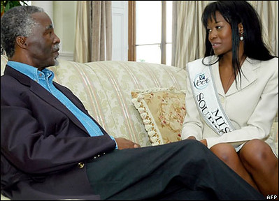 Thabo Mbheki with Thuli Sithole | by consultinginspire