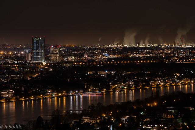 Bonn at night