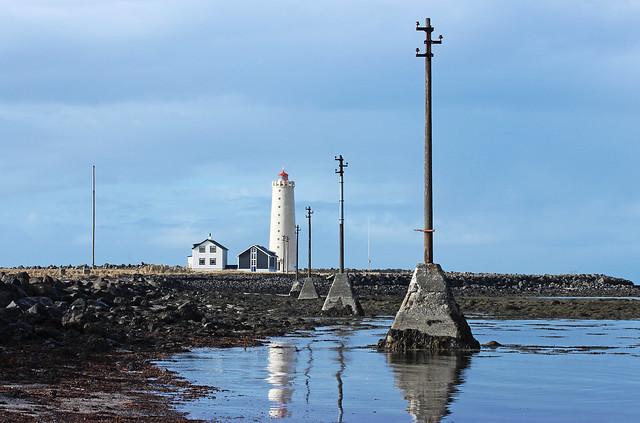Reykjavik Grotta Lighthouse