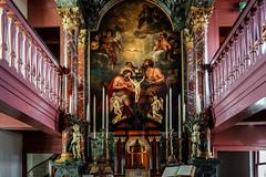 Amsterdam - Ons' Lieve Heer op Solder 06 - Altaar met Tabernakel en Putti