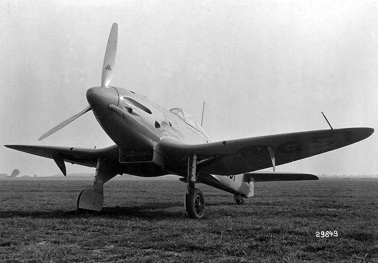 Heinkel He 112 Flugzeugprofil