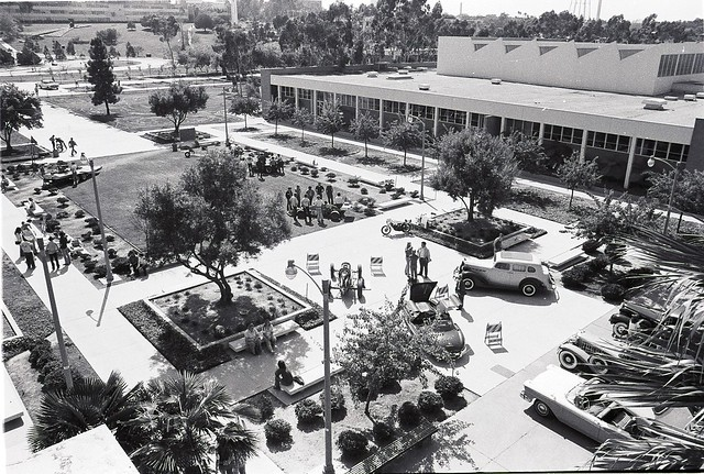 Long Beach State Quad Lower Campus - Find the M-B Gullwing 300SL