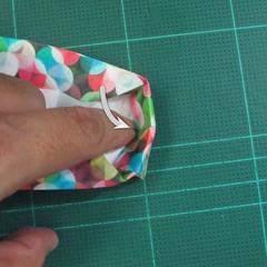 วิธีพับกล่องของขวัญแบบมีฝาปิด (Origami Present Box With Lid) 028
