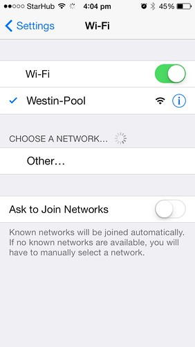 Wifi at Westin Singapore | by philip.lim