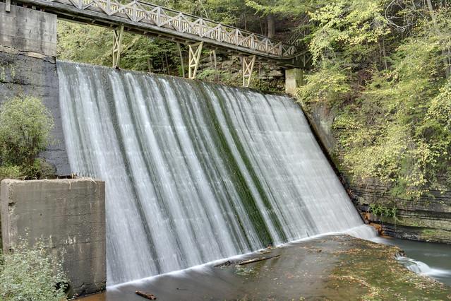 Evins Mill dam, Dekalb County, Tennessee