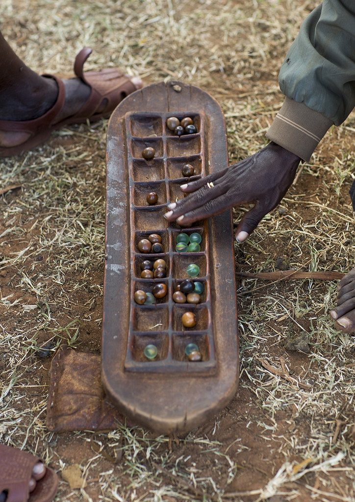 Borana Tribe Traditional Game Board, Yabelo, Ethiopia | Flickr