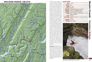 Whitewater of the Southern Appalachians   by Chuck Sutherland
