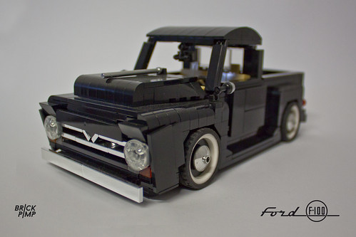 LEGO FORD F-100 (50s) - 1:18 - custom car