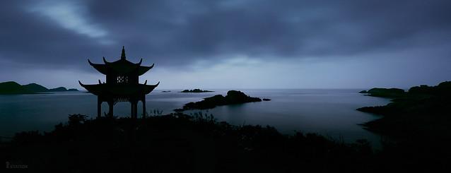 海之蓝晓  /  the dawn