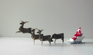 christmas? | by paper folding artist redpaper