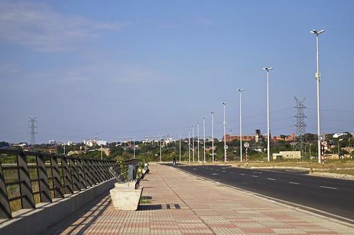 city en del de la view vista invierno asuncion paraguay costanera 2014