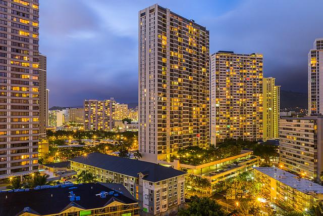 Waikiki Highrises