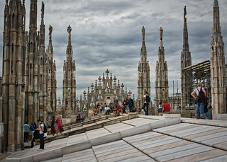 Roof of the Duomo di Milano | by David Davies