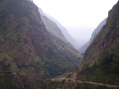 Marshyangdi river valley, Annapurna