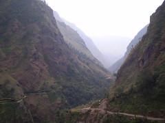 Marshyangdi river valley, Annapurna