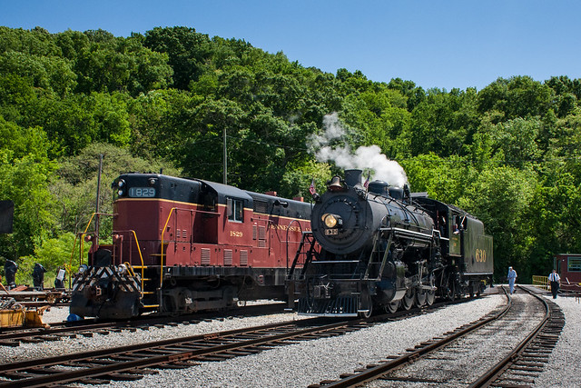TVRM 1829 & Southern 630 at the Soule Shops