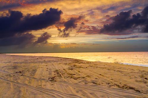 ocean sunset beach water landscape provincetown capecod