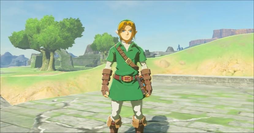 Legend Of Zelda Breath Of The Wild Classic Link Costume Flickr