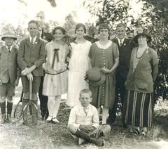 M. Llewelyn W. Bevan at Sandy Creek 1926