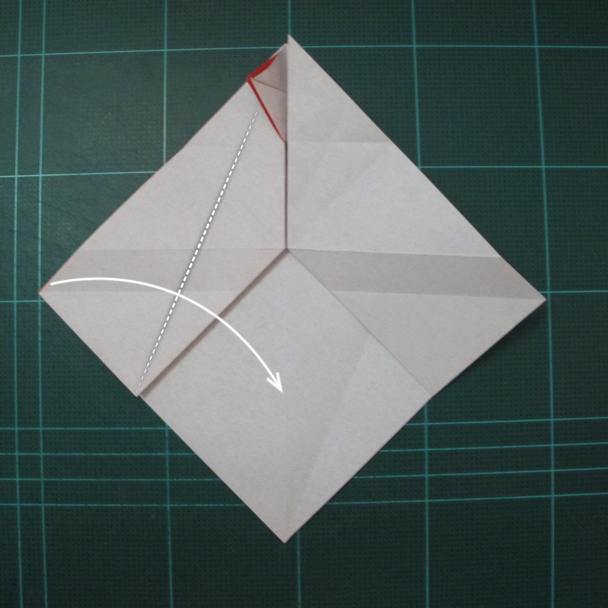 การพับกระดาษเป็นรูปสัตว์ประหลาดก็อตซิล่า (Origami Gozzila) 020