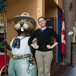 Emily and the welcome beaver