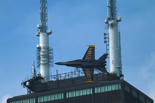 Blue Angel and Hancock Tower | by slcko
