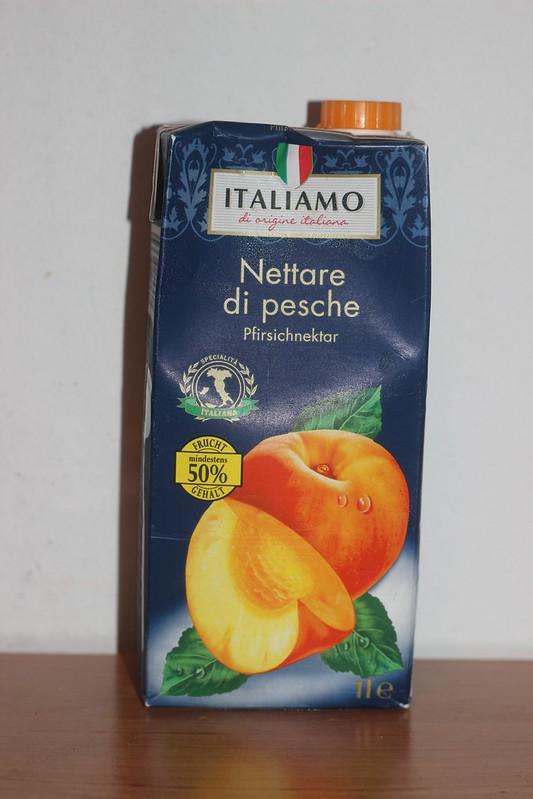 Italiamo peach nectar