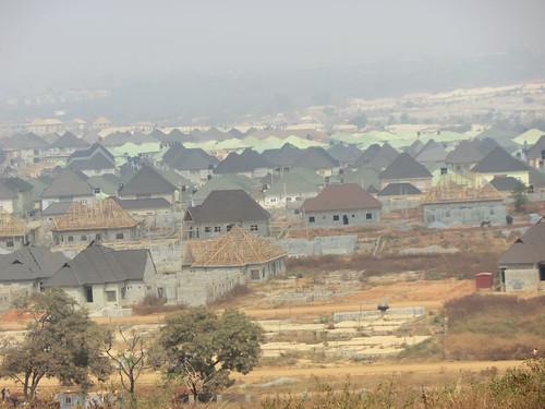 buildings aerialview abuja