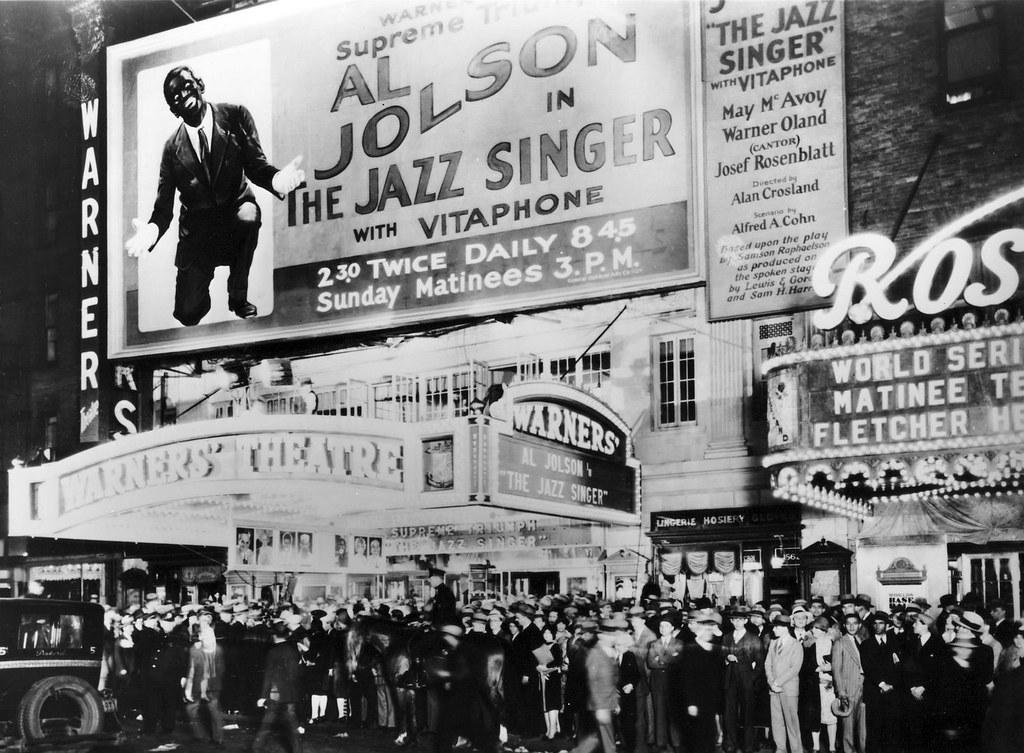 Prima newyorkese di The Jazz Singer