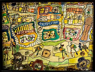 Ostracisme, rend la monnaie - Jean Dubuffet - 2 mai 1961