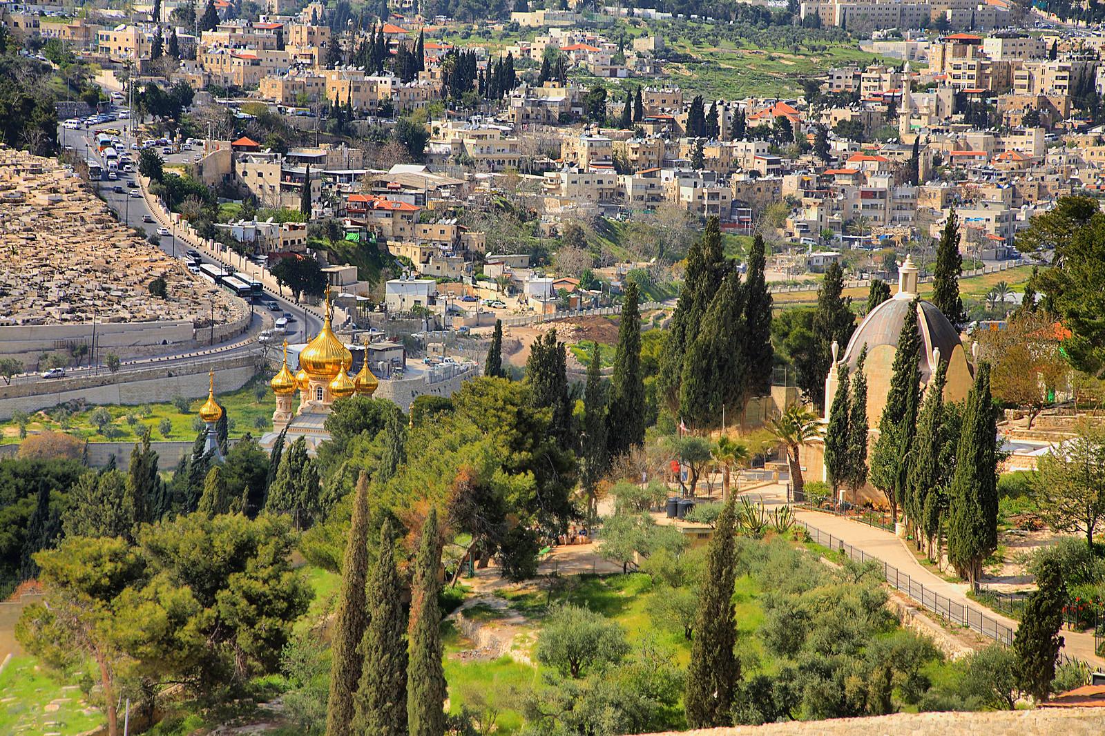 Jerusalem_Mt of Olives_2_Noam Chen_ IMOT