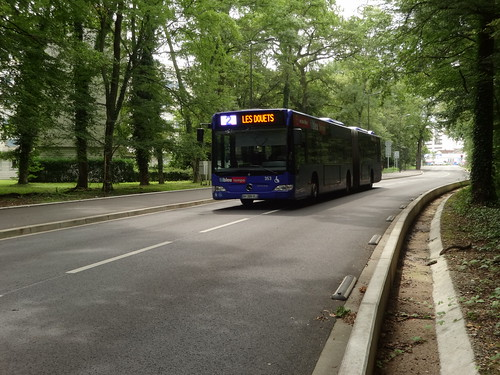 Mercedes Benz Citaro G n°353  -  Tours FIL BLEU - Ligne 2   by A - Bobo