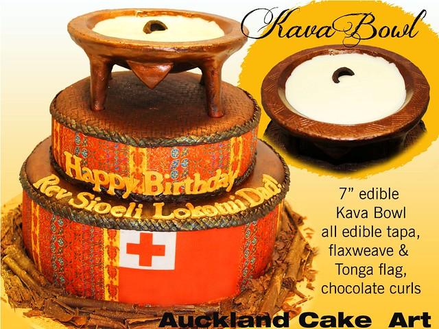 KAVA BOWL CAKE