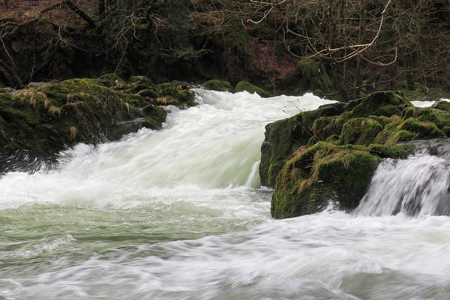 River Brathay below Skelwith Force, Great Langdale, Lake District National Park, Cumbria, UK