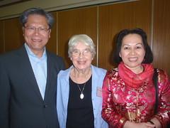Lt. Gov Hieu Van Le, Pat Sheahan, and Mrs Le 2010 1009