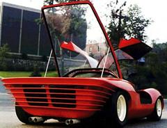 Pininfarina 1968 250 P5 copia