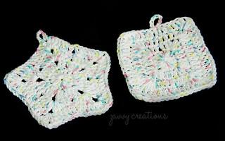 Baby Pastel Crochet Washcloths | by Zavvy Creations