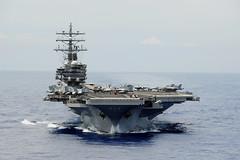 USS Ronald Reagan (CVN 76) file photo. (U.S. Navy/Ensign Joseph Pfaff)