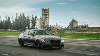 "19"" SpunForged FS77 on BMW F30 